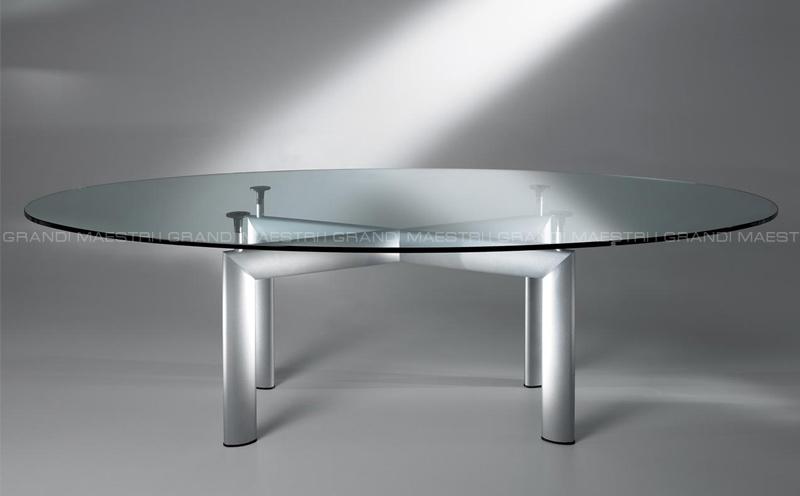 Le corbusier lc6 tavolo - Tavolo cristallo le corbusier ...